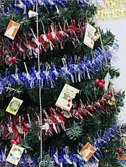 """10ks / set 200cm / 78,4 """"smíšená a náhodné barvy vánoční ozdoby načechraný péřové boa pás strana svatební Vánoční dárek"""