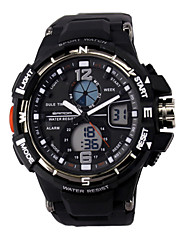 Pánské / Dámské / Unisex Náramkové hodinky DigitálníLCD / Kalendář / Chronograf / Voděodolné / Hodinky s dvojitým časem / poplach /