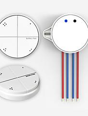 4ギャングスプリングバック電源内蔵ワイヤレスリモート制御光スイッチ
