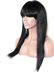 強打と黒人女性のためのファッションブラジルストレート人間の髪の毛のレースのかつらはjoywigs