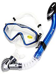 Šnorchlovací sady Šnorchly Potápěčské masky Brýle na plavání Sada na šnorchlování Suchá koncovka Potápění a šnorchlování. Plavání Silikon-