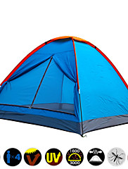 / 3-4 persons Tent Single One Room Camping Tent Polyester OxfordMoistureproof/Moisture Permeability Waterproof Ultraviolet Resistant
