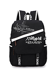 Bag Inspirirana Sword Art Online Cosplay Anime Cosplay Pribor Bag / ruksak Crna Canvas Male / Female