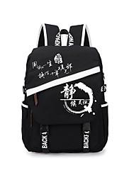 Bag Inspirirana Cosplay Cosplay Anime Cosplay Pribor Bag / ruksak Crna Canvas Male / Female