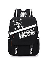 Bag Inspirirana One Piece Monkey D. Luffy Anime Cosplay Pribor Bag / ruksak Crna Canvas Male / Female