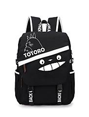 Bag Inspirirana Moj susjed Totoro Mačka Anime Cosplay Pribor Bag / ruksak Crna Canvas Male / Female