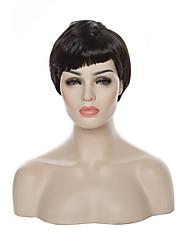 cool! 2015 nový přírůstek 10inch-short-queen-paruka kudrnaté vlasy stranou a cosplay syntetické paruky paruka / paruky