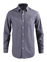 JamesEarl 男性 シャツカラー ロング シャツ&ブラウス グレー - MB1XC000730