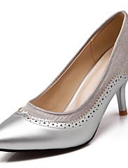 Ženske cipele-Salonke / štikle-Ured i karijera / Formalne prilike-Umjetna koža-Stiletto potpetica-Štikle / Špicoke-Crna / Zelena /