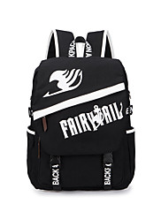 Bag Inspirirana Fairy Tail Lucy Heartfilia Anime Cosplay Pribor Bag / ruksak Crna Canvas Male / Female