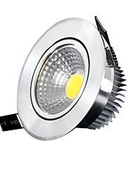 5W シーリングライト / パネルライト 埋込み式 5 COB 400-500 lm クールホワイト 明るさ調整 交流220から240 V