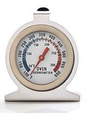 ステンレス製のオーブン温度計