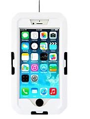 Suché Boxy Voděodolný Dotyková obrazovka Mobilní telefon Potápění a šnorchlování. PVC Černá