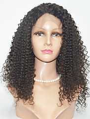 Brazilian Top Quality   Kinky Curl Hair Wigs Lace Front Human Hair Wigs For Black Women