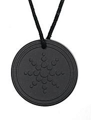 Pánské Dámské Náhrdelníky s přívěšky Přívěšky Volframová ocel Flower Shape Slunečnice Módní minimalistický styl Černá Šperky Denní Ležérní