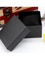 ジュエリーボックス ペーパー 1個 ブラック / レッド / ピンク