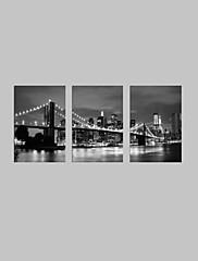 vizuální star®black a bílé London Bridge plátně slavný moderního umění zdi připraven k zavěšení