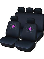 autoyouth interiérové doplňky univerzální autopotahy polyester výšivka autoplachty autopříslušenství (9 ks)