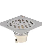 浴室用品セット / 排水口金具 / ブラシ加工100*100mm /ステンレス /モダン /100mm 100mm 0.206kg