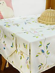 方形 トワル テーブルクロス , ポリエステル 材料 ホテルのダイニングテーブル 表Dceoration