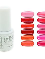 yemannvyou®sequins uv color gel na nehty no.1-12 (5 ml, různé barvy)