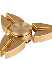 Tri-Spinner Metal Fidget Spinner (Various Colors)