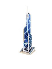 Puzzle 3D puzzle Stavební bloky DIY hračky Slavné stavby Dřevo Modelování