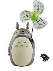 Air Cooling Fan USB Universal Standard Håndholdt design LED Cool og forfriskende Let og bekvemt USB