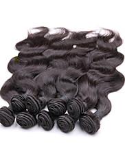 Оптовые лучшие бразильские волосы волны virgin тела 1kg 10bundles много 100% первоначально человеческих волос естественный цвет волос от