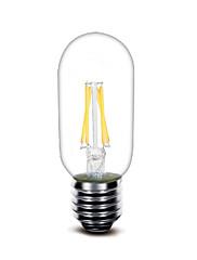 3W E27 LED-glødetrådspærer T 4 COB 400 lm Varm hvid Dekorativ Vekselstrøm220 V 1 stk.