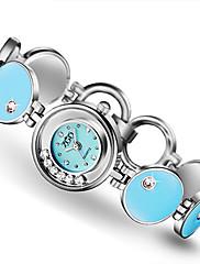 Mulheres Relógio de Moda Quartzo Impermeável Lega Banda Azul Rosa