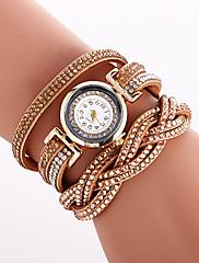 Dámské Módní hodinky Náramkové hodinky Unikátní Creative hodinky Hodinky na běžné nošení Křemenný PU KapelaRetro Přívěsek Elegantní Cool