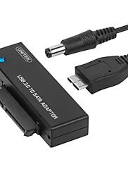 Unitek USB 3.0 Kabel adaptéru, USB 3.0 to SATA III Kabel adaptéru Samec-samec 0,6 m (2 stop)