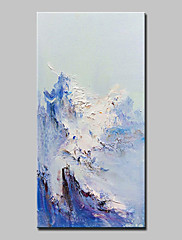 手描きの 抽象画 縦式,抽象画 近代の 1枚 キャンバス ハング塗装油絵 For ホームデコレーション