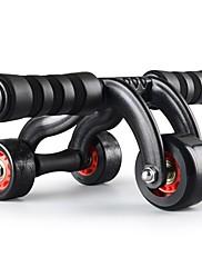 Kolečka na posilování břicha Fitness Tvarovaný potah Trvanlivý výrobek Jednoduchý Život Ocel Slitina-