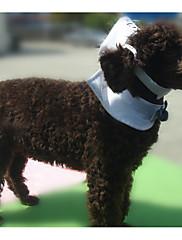 Cachorro Gravata/Gravata Borboleta Roupas para Cães Casual Marinheiro Branco
