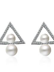 Žene Viseće naušnice Dijamant Nature luksuzni nakit Bohemia Style Personalized Hypoallergenic Umjetno drago kamenje Legura Jewelry Za