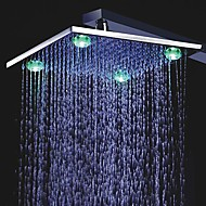 10 inch Color Changing LED Shower Head with 4 LED Lights