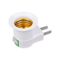 -US Plug to E27-E27-נורות תאורהמתאם