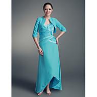 LUTISANA - Kleid für die Brautmutter aus Chiffon und Satin mit Bolerojäckchen