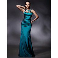 TS Couture® Formal Evening / Military Ball Dress - Jade Plus Sizes / Petite Trumpet/Mermaid Straps Floor-length Stretch Satin