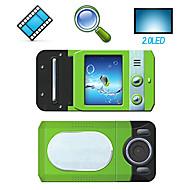 """HD 720p @ 30fps 5MP 4xdigital zoom videocamera digitale con LCD da 2,0 """"TV screen recorder voce Funzione (DV-7200A)"""