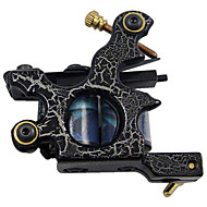 acier à faible teneur en carbone machine de tatouage avec 10 bobines de pellicule (hb-wgd018-c)