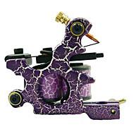 aço de baixo carbono shader máquina de tatuagem com 10 bobinas de envoltório (hb-wgd018-g)