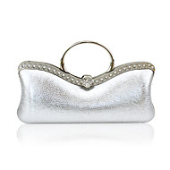 Faux Leather With Rhinestone Evening Handbags/ Clutches/ Top Handle Bags/ Novelty More Colors Available