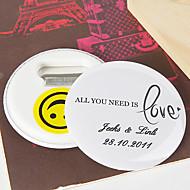 personalizzati apribottiglie / frigorifero magnete - tutto ciò che serve è amore (set di 12)
