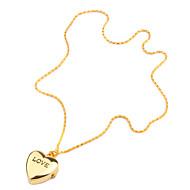 Dame Modeur Quartz Bånd Hjerteformet Guld