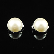 Gorgeous Alloy With Imitation Pearl Wedding Bridal Earrings