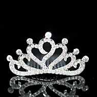 Gorgeous Cubic Zirconia Wedding Flower Girl Tiara
