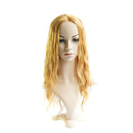 Lace Front Long Mixed Hair Light Gold Body Wave Hair Wig